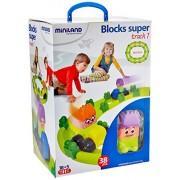 Set Track 1. Blocks Súper 34 pcs