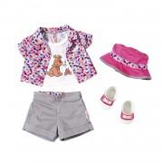 Zapf Creation 823767 Baby Born Play&fun Tenue De Camping Deluxe