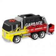 14 City Service Fleet Sanitation, Garbage Truck (Colors May Vary) by Toystate
