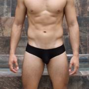 McKillop Gravity Bespoke Modal Brief Underwear Black GBMO-BK1