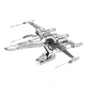 Metal Earth - 5061269 - Maquette 3D - Star Wars - Ep7 - Poe Dameron's X-Wing Fighter - 10,16 x 10,16 x 6,35 cm - 2 pièces