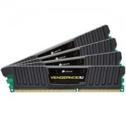 Memorie Corsair Vengeance LP 32GB (4x8GB) DDR3 PC3-15000 CL10 1.5V 1866MHz Dual Channel Quad Kit, CML32GX3M4A1866C10