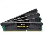Memorie Corsair Vengeance LP 32GB (4x8GB) DDR3 PC3-15000 CL10 1.5V 1866MHz Dual Channel Quad Kit, CML32GX3M4A1866C10