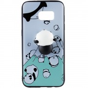 Husa Capac Spate Squishy 3D Panda SAMSUNG Galaxy S8 Plus STAR
