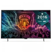 Televizor Smart LED Philips 123 cm Ultra HD/4K 49PUH6101, Dual Core, WiFi, USB, CI+, Black