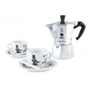 Set espresso moka Carosello Bialetti 5 piese