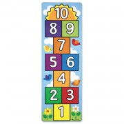 Melissa & Doug Hop & Count Hopscotch Rug - Blue - 9402
