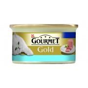 Gourmet Gold - Mousse cu ton - 85g