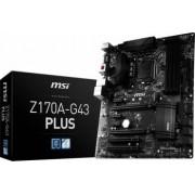 Placa de baza MSI Z170A-G43 PLUS Socket 1151