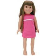 """Springfield insieme pre-ripiene bambola 18""""-Emma/bruna capelli, occhi marroni"""