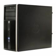Refurbished - Calculator HP Compaq 6300 Pro Tower, Intel Core i3 3220 3.3 GHz, 4 GB DDR3, 240 GB SSD NOU, DVD-ROM, Windows 7 Home Premium, Garantie pe Viata