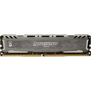 Ballistix Sport LT Memoria da 4 GB, DDR4, 2400 MT/s, (PC4-19200) DIMM, 288-Pin - BLS4G4D240FSB, Grigio