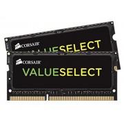 Corsair CMSO16GX3M2A1333C9 Value Select Memoria da 16 GB (2x8 GB), DDR3, 1333 MHz, CL9