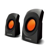 Boxe CNR-SP20JB, 2.0, mini, 4W RMS, Negre