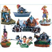 And embers of war box one piece log departure Hen anime Megahouse A new (all six full comp set) (japan import)