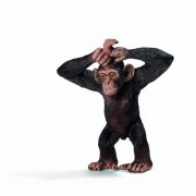 Schleich Young Chimpanzee Toy Figure