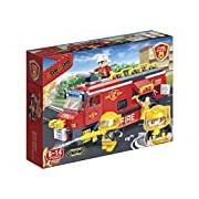 """Banbao 7103 """"Fire Rescue Team"""" Building Set"""