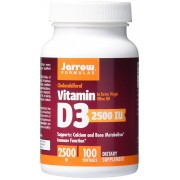 Jarrow Formulas Vitamina D3 2500 IU 100 softgels
