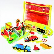 Meadow Kids Diggers and Dumpers Floating Activity Scene
