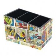 Porta Lápis Quadrinhos HQ Comics Marvel Colorido