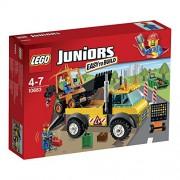 LEGO Juniors - Camión de obras en carretera, multicolor (10683)