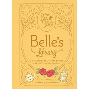 Brittany Rubiano Beauty and the Beast: Belle's Library: A collection of literary quotes and inspirational musings (Disney Beauty and the Beast)