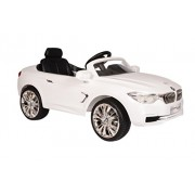 Toyhouse Officially Licensed BMW 4 series coupe 6V Rechargeable Battery Operated Rideon Car, White