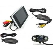 """Bezdrátová kamera s LCD 3,5"""" pro couvání"""