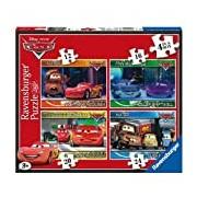 Ravensburger Disney Cars 4inBox (12, 16, 20, 24pc) Jigsaw Puzzles