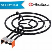 Paellero de Gas Natural Garcima 60 cm / 3 fuegos