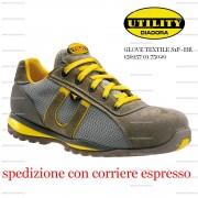 scarpa active glove textile s1p-hr grigio roccia lunare diadora calzature diadora