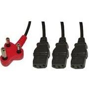 UniQue Dedicated Tri Head Power Cable