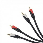 Cablu 2 RCA tata - 2 RCA tata 3 m Basic Edition