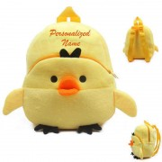 Personalized Yellow Duckling Baby Bag Stuffed Soft Plush Toy