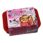 Feuchtmann Spielwaren 6210560 - Gioco di costruzioni Stecki Girls, One for Two, confezione maxi, 170 g