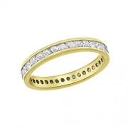 Aglaia Bague - 7.48.2521 - Anillo de mujer de oro amarillo (18k) con 39 diamantes (talla: 12)