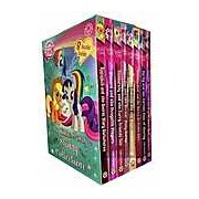 My Little Pony Story Collection 8 Books Box Gift Set ( Twilight Sparkle and The Crystal Heart Spell Rarity and the Curious case of Charity Rainbow Dash And the Daring)