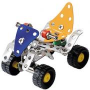 Magideal Metal DIY Toy Assembly Model Kit All Terrain Vehicle T Set of 63 Pcs