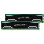 Memorie Crucial Ballistix Sport 8GB (2x4GB) DDR3, 1600MHz, PC3-12800, CL10, Dual Channel Kit, BLS2CP4G3D1609DS1S00