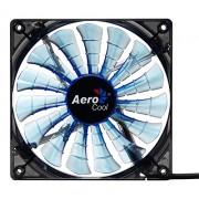 AeroCool Shark Ventola di Raffreddamento da 120 mm, Blu