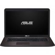 Laptop Asus X756UB-TY011D 17.3 inch HD+ Intel Core i5-6200U 4GB DDR3 2TB+16GB SSHD nVidia GeForce 940M 2GB Dark Brown