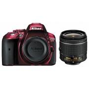 Nikon D5300 kit (AF-P 18-55mm VR) (roșu)