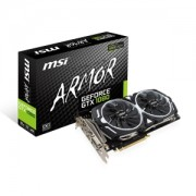 Placa video MSI GeForce GTX 1080 ARMOR 8G OC, 1657 (1797) MHz, 8GB GDDR5X, 256-bit, DVI-D, HDMI, 3x DP