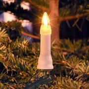 Konstsmide LED Baumkette Topbirne One String 45 LEDs warmweiß