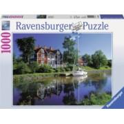 Puzzle CANALUL GOTA SUEDIA 1000 piese Ravensburger
