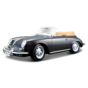 BBurago - 22078 - Véhicule Miniature - Modèle À L'Échelle - Porsche 356B Cabrio 1961 - Echelle 1/24 - Assortiment