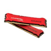 Kingston HyperX Savage Red 8GB (2x4GB) DDR3 PC3-19200C11 2400MHz Dual Channel Kit (HX324C11SRK2/8)