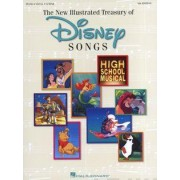 The Illustrated Treasury of Disney Songs by Hal Leonard Corp