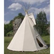Kompletní indiánské týpí (Tee-pee) rozměr 7,7 m bez klobouku ne