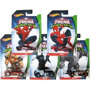 Hot Wheels Marvel Ultimate Spider-man vs Sinister 6 - Collection #2 Set of 5